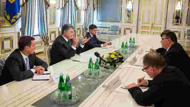 Порошенко обговорив із керівником МЗС Литви безвізовий режим для українців
