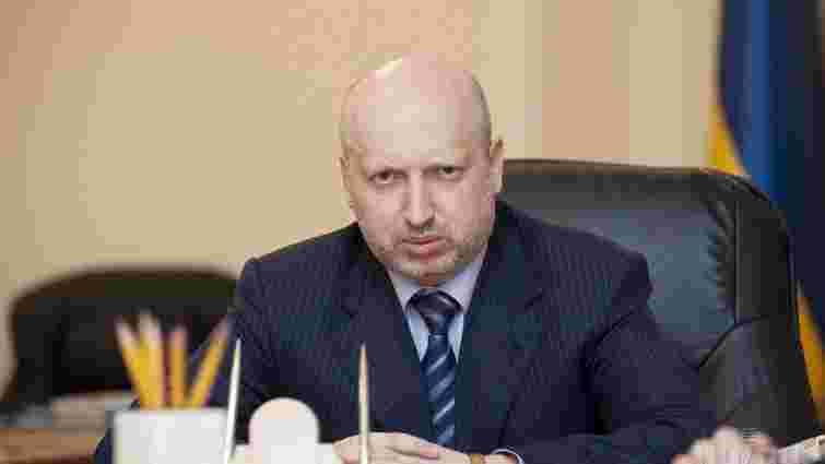 Рішення РНБО, яке ввів у дію президент, стосується боротьби з диверсантами, – Турчинов