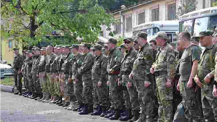 Загін правоохоронців із Львівщини вирушив в зону АТО замінити своїх колег
