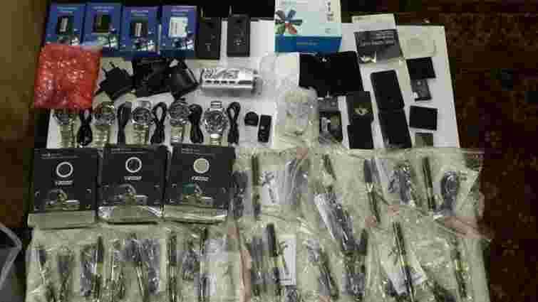 На Харківщині СБУ затримала партію контрабанди приладів спостереження