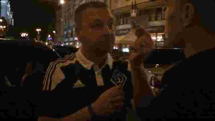 Київська поліція вступила в суперечку з німецьким дипломатом (відео)