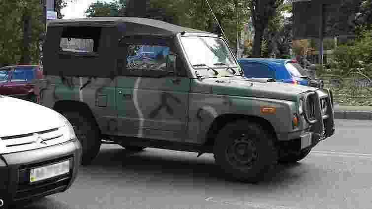В Україні тестують корейські військові джипи