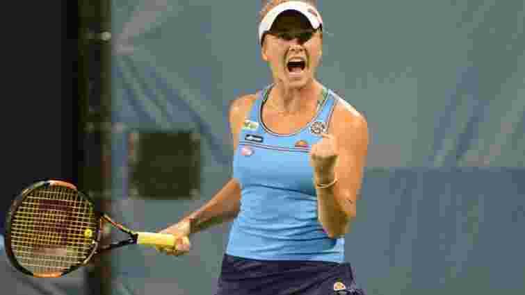 Еліна Світоліна вийшла у наступний раунд тенісного турніру у Цинциннаті