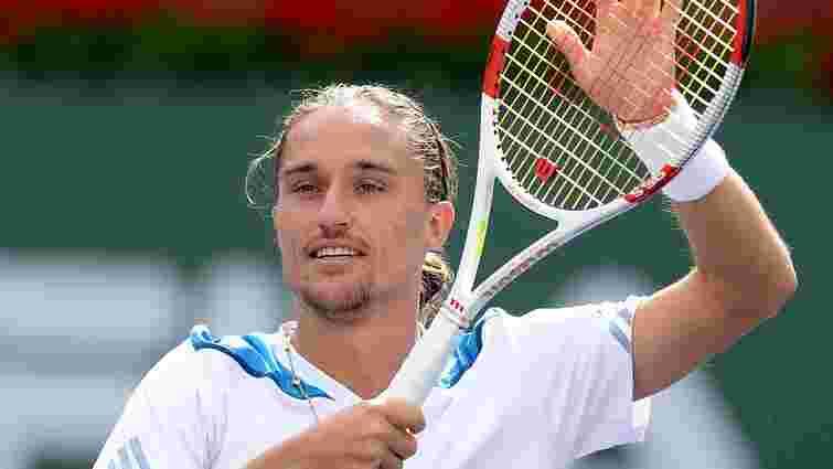 Тенісист Олександр Долгополов вийшов у чвертьфінал турніру в Цинциннаті