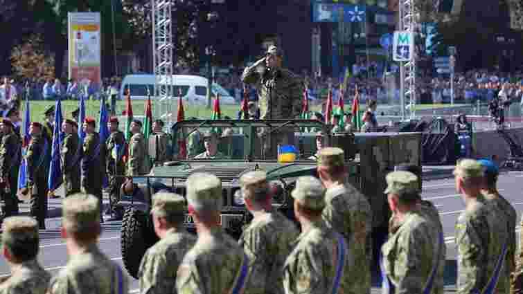 Україна відзначила 24-ту річницю Незалежності урочистим Маршем