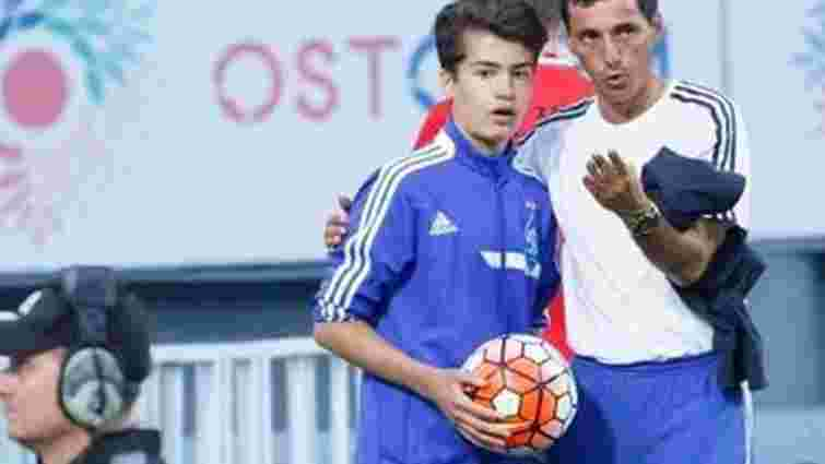 Син Петра Порошенка грає у дитячій академії «Динамо» на позиції плеймекера