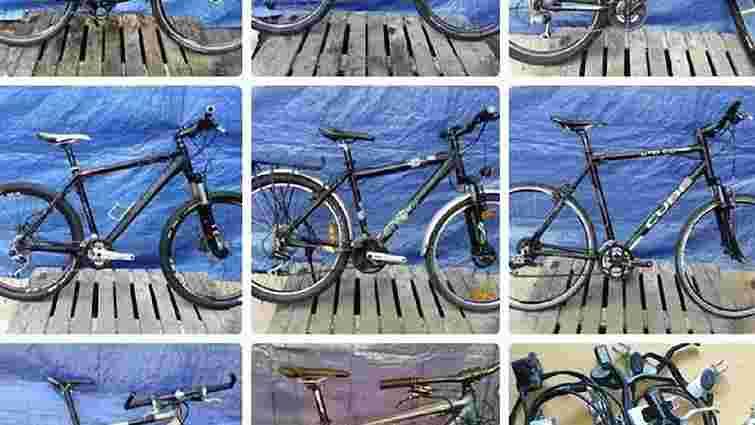 Львів`ян просять допомогти знайти викрадені зі складу велосипеди та запчастини