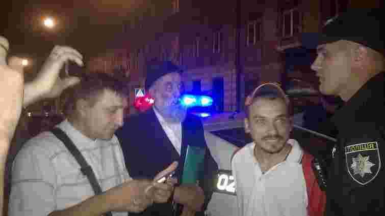 Голова єврейської громади у Львові побився з патрульними поліцейськими