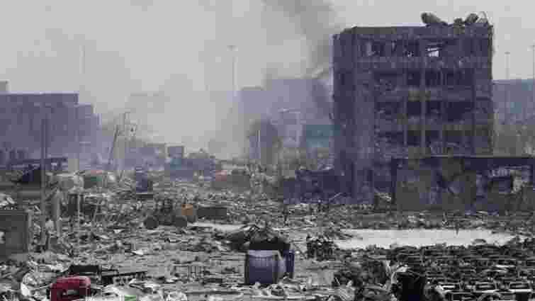 У Китаї затримали 12 підозрюваних у причетності до вибухів в Тяньцзіні