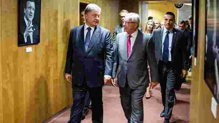 Президент Єврокомісії позитивно оцінив шанси України на скасування віз з ЄС