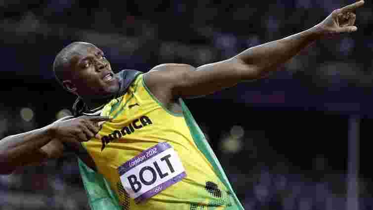 Знаменитий спринтер Усейн Болт став десятикратним чемпіоном світу