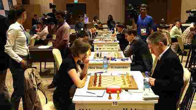 П'ять українських шахістів вийшли у друге коло Кубку світу ФІДЕ