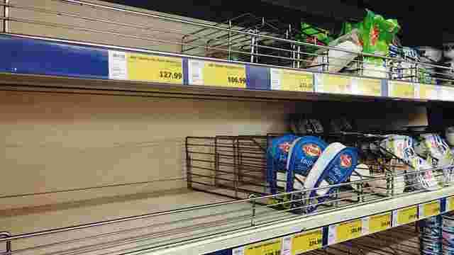 Через дефіцит продуктів урядові РФ запропонували ввести продуктові картки