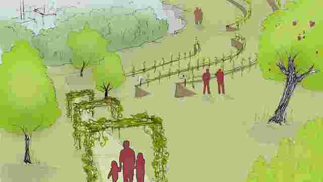 У львівському парку «Знесіння» вирощуватимуть виноград