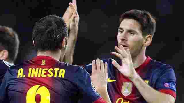 «Барселона» на два місяці втратила  Мессі та Іньєсту