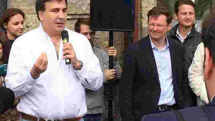 Саакашвілі в Одесі вдався до агітації за кандидата на міського голову