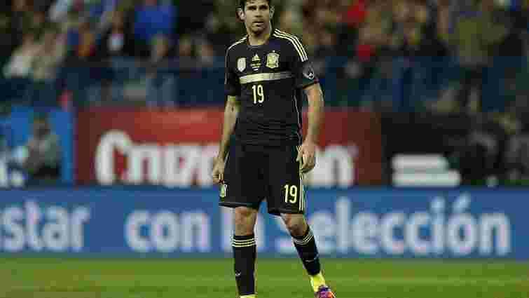 Дієго Коста не зіграє за збірну Іспанії у матчі проти України