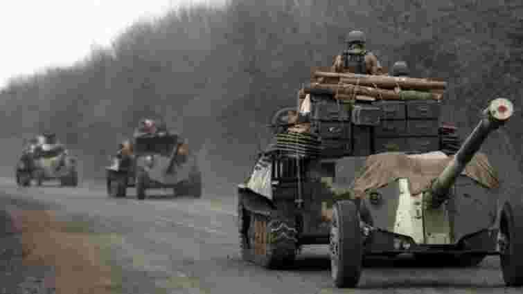 Найближчим часом Україна може почати відведення озброєнь від лінії розмежування