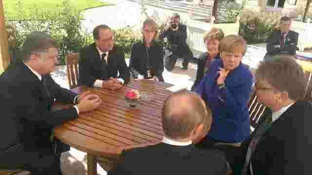 У Парижі завершились переговори лідерів  «нормандської четвірки»