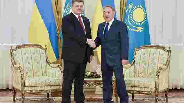 Президенти України та Казахстану підписали план співробітництва до 2017 року