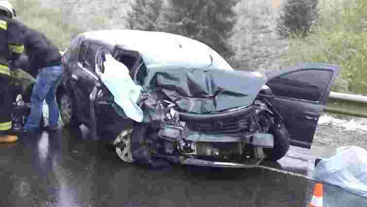 На трасі Київ-Чоп в аварії загинули двоє стриян