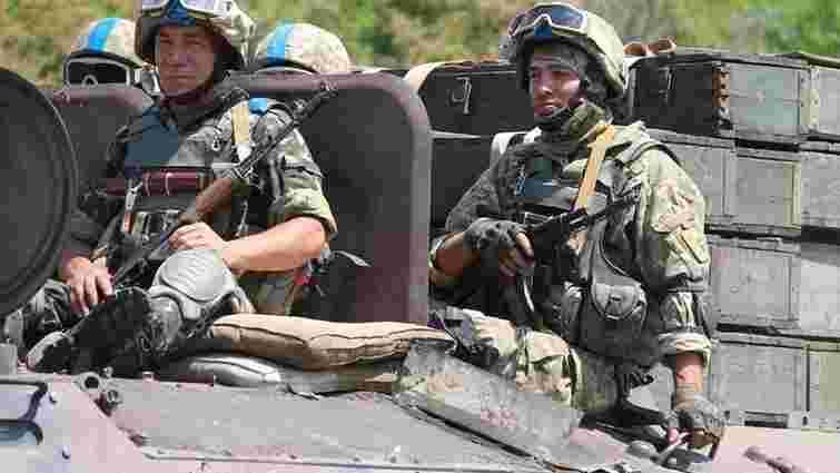 День на Донбасі минув спокійно, - штаб