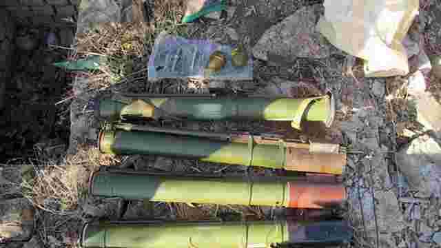 Схованку зі зброєю знайшли поблизу Слов'янська