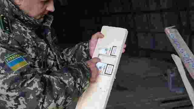 Прикордонники Буковини виявили 47 тис. пачок контрабандних сигарет