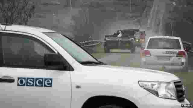 Бойовики «ЛНР» не пропустили спостерігачів ОБСЄ на кордоні з Росією