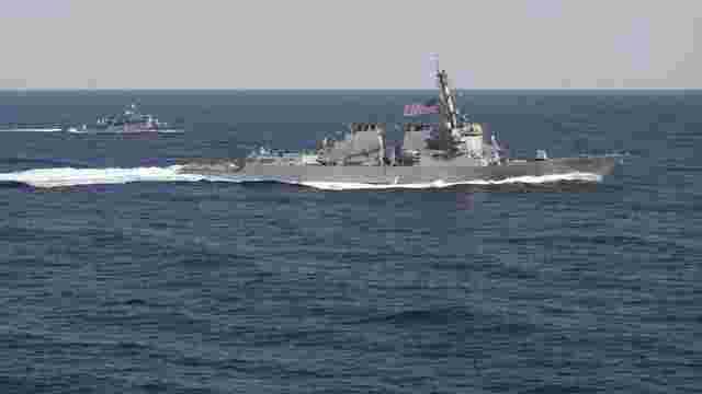 Китай погрожує США війною через есмінець біля спірних островів