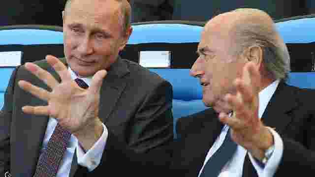 Президент ФІФА визнав договірний характер голосування за проведення ЧС-2018 у Росії