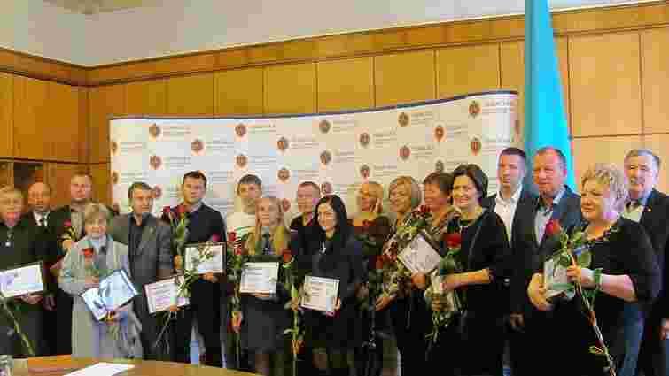 У Львові нагородили 11 медалістів Європейських ігор в Баку