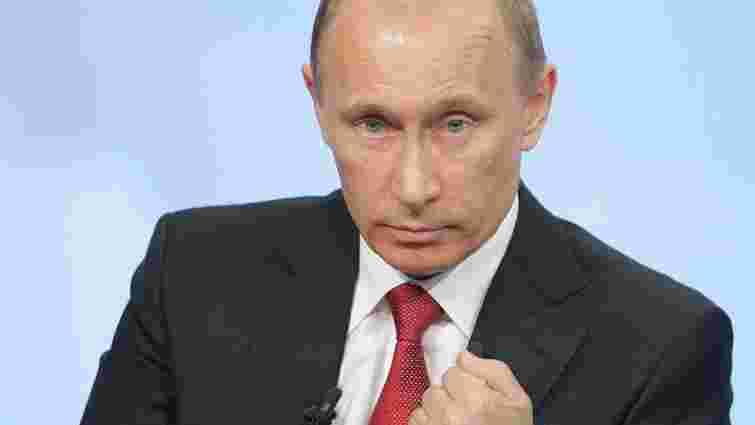 Путін підписав закон про заходи у відповідь на арешт активів РФ