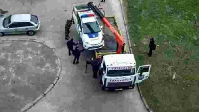 У Львові потрапив у ДТП поліцейський автомобіль