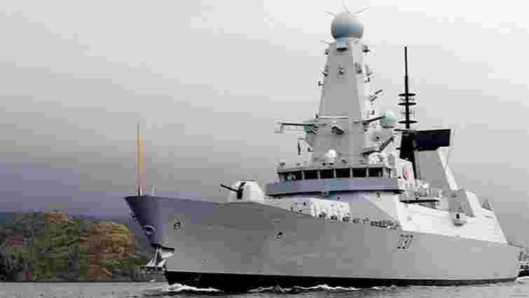 Ракетний есмінець Великобританії увійшов у Чорне море