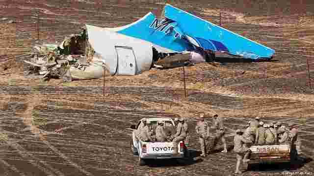 Голова Airbus заперечив інформацію про несправність російського літака, що розбився в Єгипті