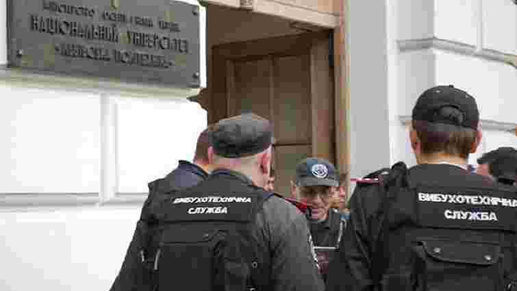 За повідомлення про замінування «Львівської політехніки» львів'янина засудили на рік умовно