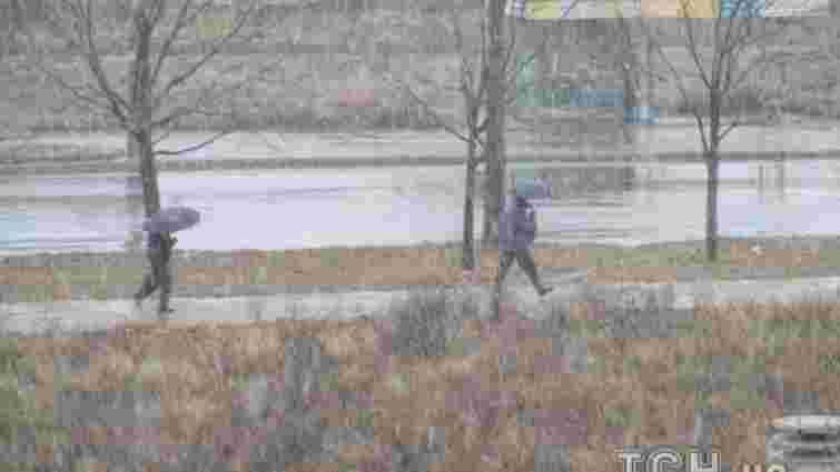 У Запоріжжі випав перший сніг
