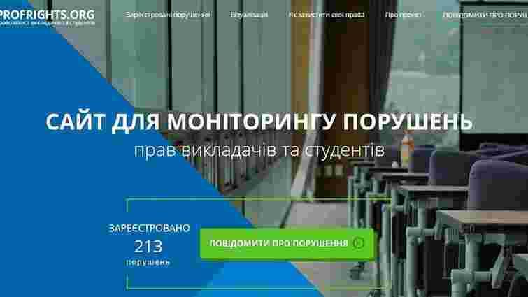 В Україні запрацював сайт, де можна поскражитись на корупцію в університетах