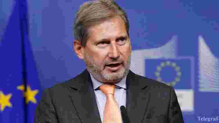 Сьогодні в Україну прибуде єврокомісар Йоханнес Хан
