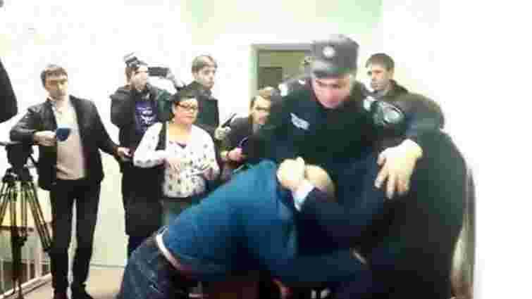 У суді над Лукаш побили Михайла Добкіна