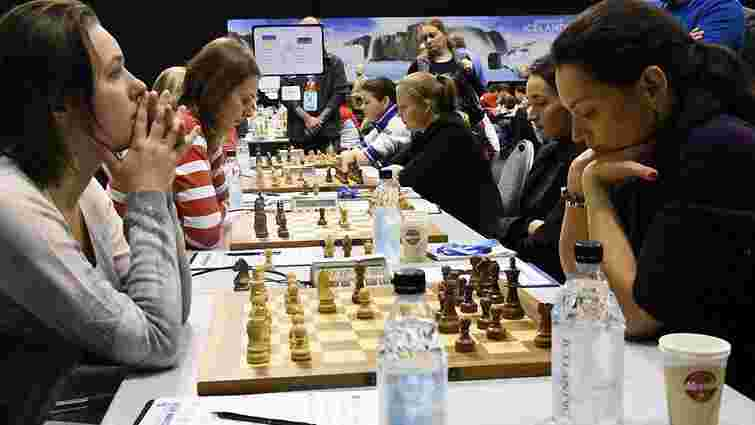 Українки зупинила виграшну серію збірної Росії на командному чемпіонаті Європи із шахів