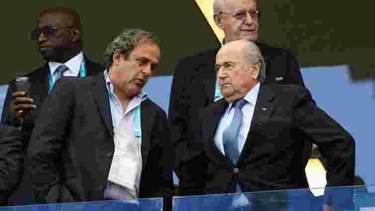 ФІФА завершила розслідування щодо Блаттера і Платіні