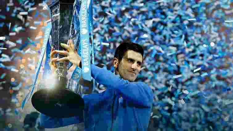 Новак Джокович тріумфував у фіналі підсумкового турніру ATP