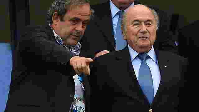 Блаттера і Платіні можуть відсторонити від футболу на 7 років