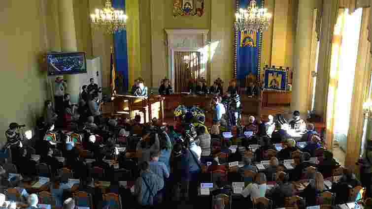 Новообрані депутати Львівської міськради склали присягу