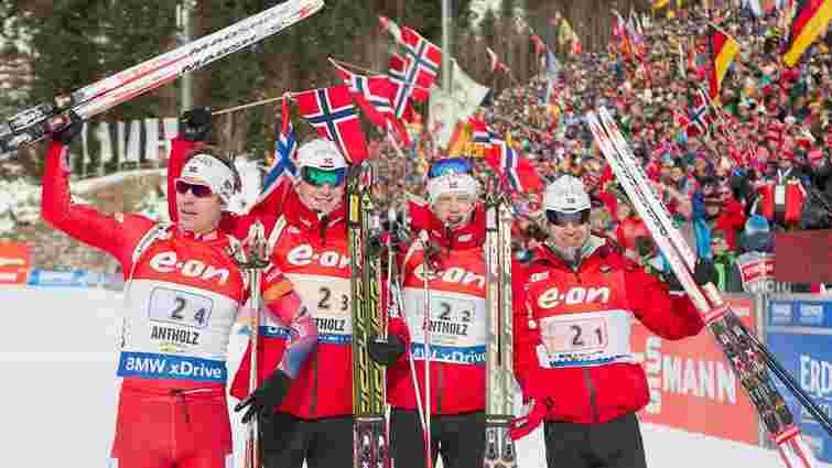 Норвегія ініціює велике розслідування у біатлоні через допінговий скандал в Росії