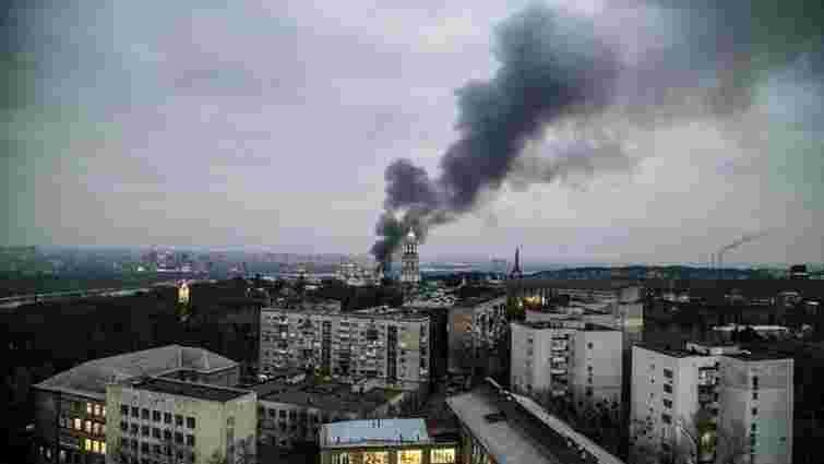У Києві спалахнув ресторан «Веранда на Дніпрі»