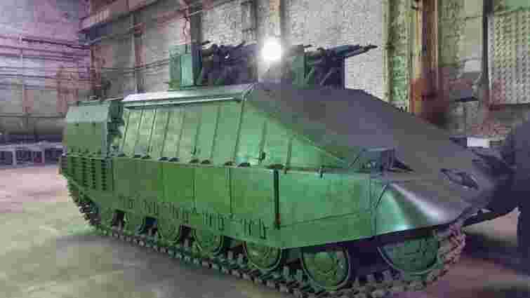 У Нацгвардії презентували танк для ведення бою в умовах міста