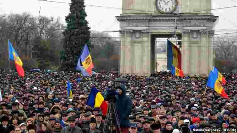 У Молдові пройшли кількатисячні антиурядові протести